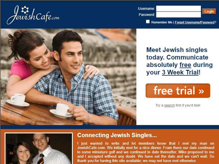 jewish dating cafe